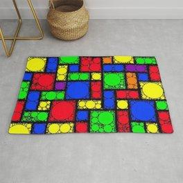 Circle Squares Rug