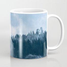 Fog at the forest Coffee Mug