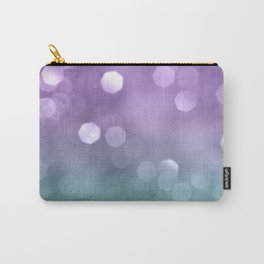 Mermaid Colored Bokeh #1 #shiny #decor #art #society6 Carry-All Pouch