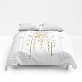 Golden Goddess Mandala Comforters