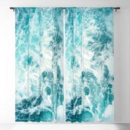 Ocean Sea Waves Blackout Curtain