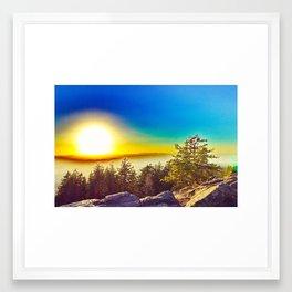 Oregon Wasteland Framed Art Print