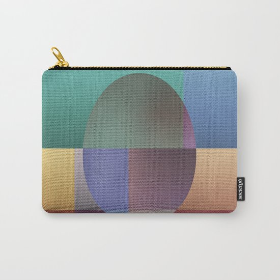 NO WAY OUT (abstract) Carry-All Pouch