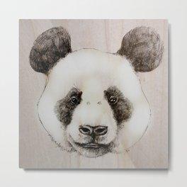 balsa panda Metal Print