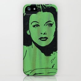 Hollywood Bombshells - Hedy iPhone Case