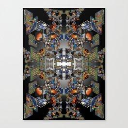 Framework: Fractal Journey Canvas Print