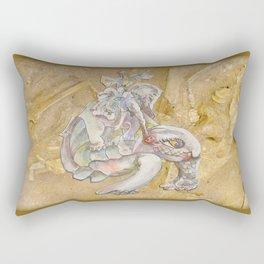 Ancient Bones Rectangular Pillow