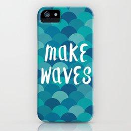Mermaids Make Waves iPhone Case