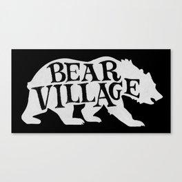 Bear Village - Polar Canvas Print