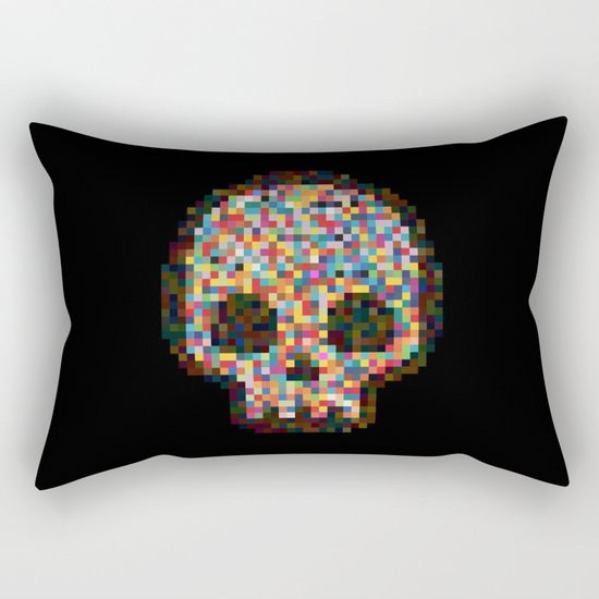 Spectrum Colors Arranged By Chance Rectangular Pillow