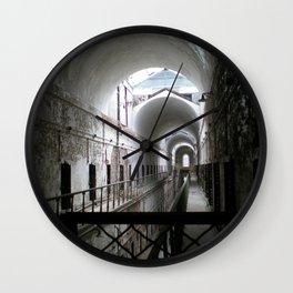 Haunted Corridor Wall Clock