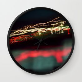 Road Lights Wall Clock