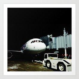 DUDE, where's my plane? Art Print