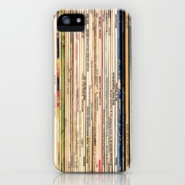 Long Player iPhone Case