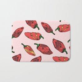 Red Hot Bath Mat