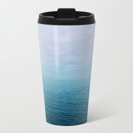 The Endless Sea Metal Travel Mug