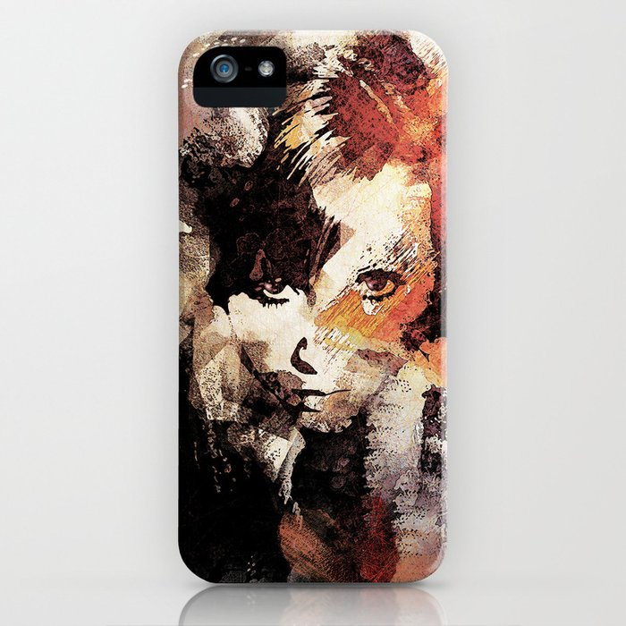 Bandwagon Abstract Portrait iPhone Case