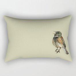 the noisy one Rectangular Pillow