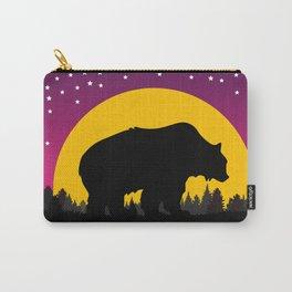 Bear Stars Moon Carry-All Pouch
