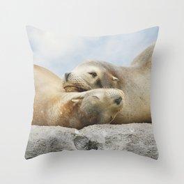 'Rock Buddies' Throw Pillow