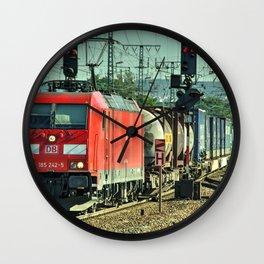 Koblenz Freight Wall Clock