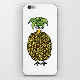 Eglantine la poule (the hen) dressed up as an pineapple iPhone Skin