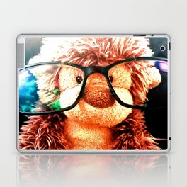 Hipster monkey Laptop & iPad Skin