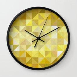 Modern Pattern X Wall Clock