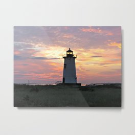 Edgartown Light Metal Print