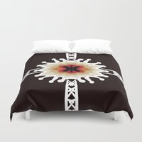 gift card Duvet Covers featuring A Gift for You by barefoot art online