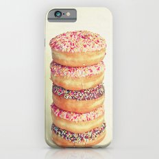 Stack of Donuts Slim Case iPhone 6