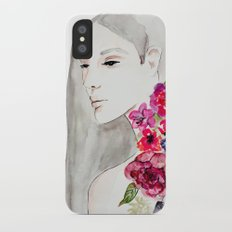 Face&flowers Slim Case iPhone X