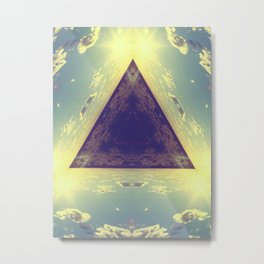 Triangles in the sky Metal Print