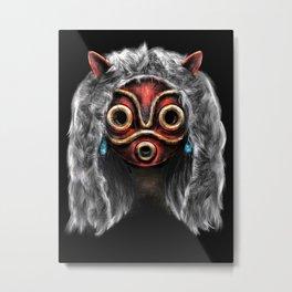 The Wolf Princess Metal Print