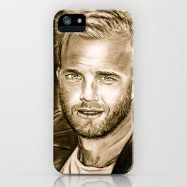 Gary Barlow iPhone Case