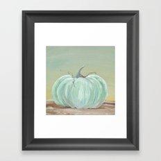Ready for Fall Cinderella pumpkin Framed Art Print