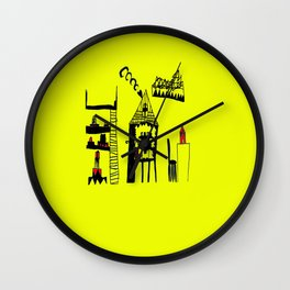 ARCHiTECTURAL DESiGN | Painting Wall Clock