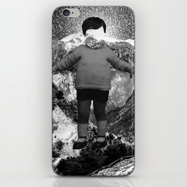 space face iPhone Skin