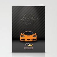 f1 Stationery Cards featuring 1995 McLaren F1 LM  by vsixdesign