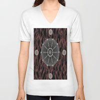 celtic V-neck T-shirts featuring Celtic Pattern by Pepita Selles