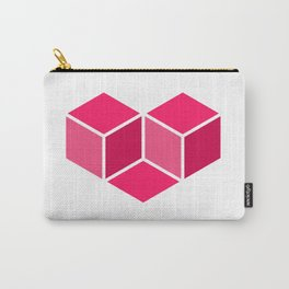 Isometric Love Carry-All Pouch