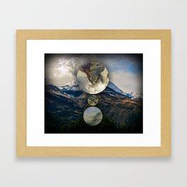 Mountain Language Framed Art Print