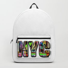 NYC (typography) Backpack