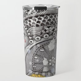 Roller Coaster Ride Travel Mug