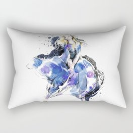 Fashion Painting #4 Rectangular Pillow