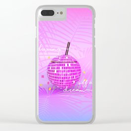 Living off a Dream Clear iPhone Case