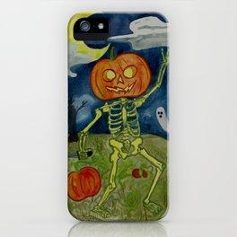 Pumpkin Patch Party iPhone Case