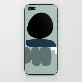 Shape study #19 - Stackable Collection iPhone Skin