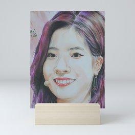 Dahyun Colour Pencil Drawing Art | Xszone Mini Art Print