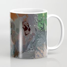 Crazy Paint - Gorilla Coffee Mug
